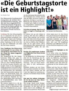 Lenzburger Nachrichten 02.09.2016